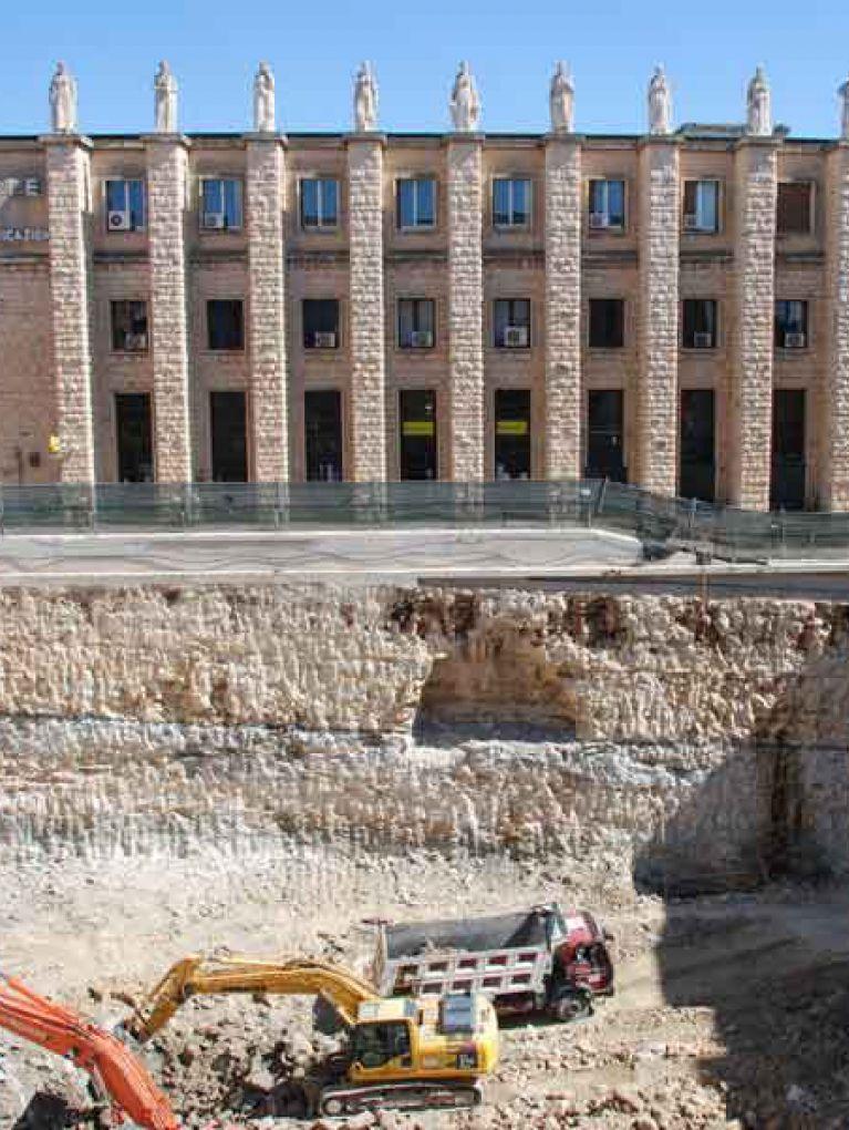 Sbancamento e scavi